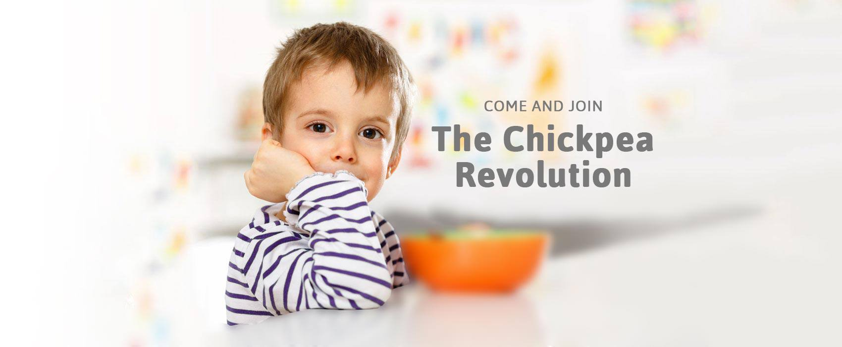 Come and join the Chickpea Revolution